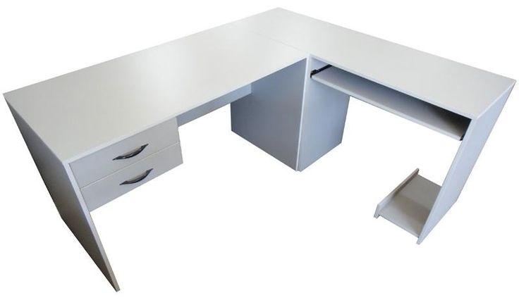 Escritorios l x mesas de pc muebles de for Pc de oficina