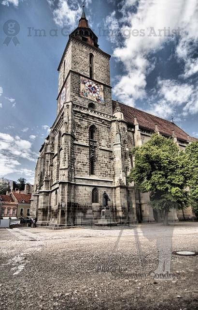 Black church, in Brasov , Romania.