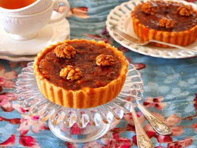 Azeri Mum: Тарт с грецкими орехами