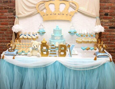 The Sweet Love Company was invited to a beautiful Lil Prince themed Baby Shower. We just love the color scheme! Book your custom dessert station today! www.TheSweetLoveCompany.com  Custom cake pops by @thesweetlovecompany  Custom cupcakes by @sydneys_sweets  Custom Sugar cookies by @thecookiestar Custom royal pillows by @glamcandybuffets  Blinged crown by @thesweetlovecompany  Wooden wall crown by @ten23designs Royal letters by @sophisticatedlifedesigns  #royalbabyshower #royalcakepops…