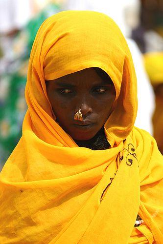 Africa |  Portrait of a woman in Eritrea | © Eric Lafforgue