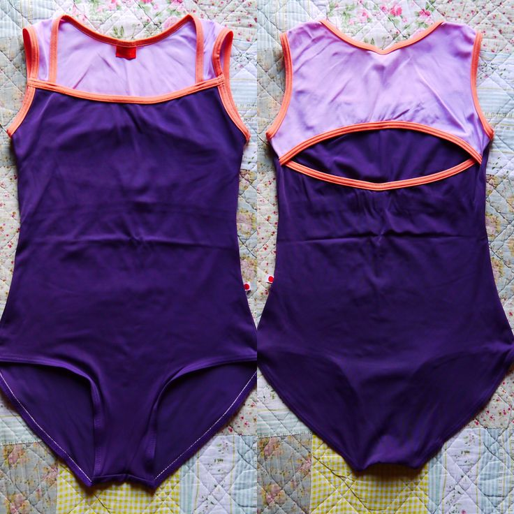 Becky / Body : t-mora Top : t-lilac Trim : t-coral #yumiko