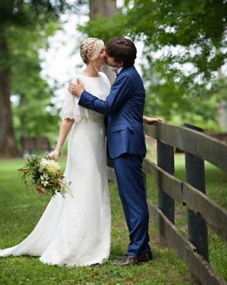 """See the """"Kristy and Marc"""" in our An Eclectic Barn Wedding in Hudson, New York gallery"""