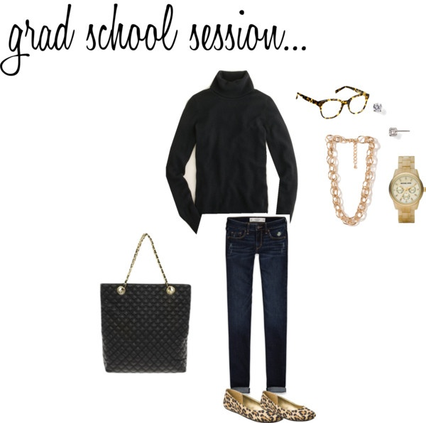 """Grad School Info Session"" by nkg127 ❤ liked on Polyvore"
