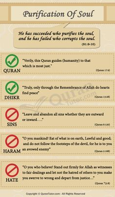 Islam On The Purification Of Soul