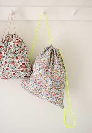 Tutorial para hacer unas mochilas muy prácticas   Portaldelabores.com   Portal de labores