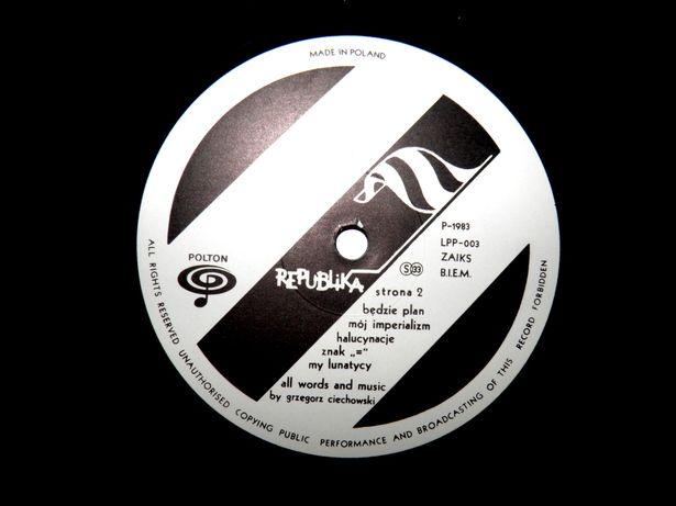 VINYL RECORD NO1-DESIGN BY ANDREW LUDEW