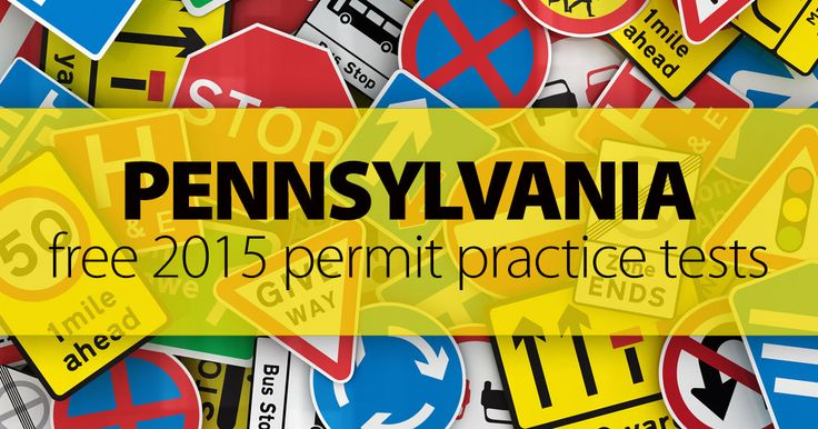 Getting ready for your PA Permit Test? Stop looking! Click here to start your FREE 20-question Pennsylvania Practice Permit Test. No registration required!
