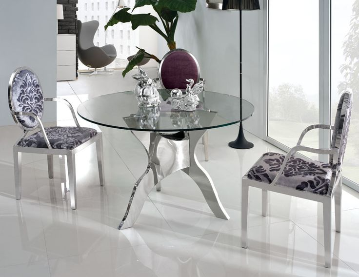 Amazing Glass Dining Room Tables Gaining Contemporary Interior Nuances    Http://www.ruchidesigns