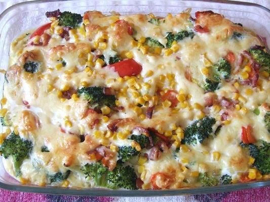 Zapiekanka warzywno - mięsna
