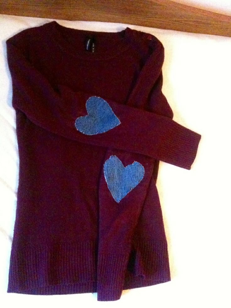 Done it myself#Jeans Hearts