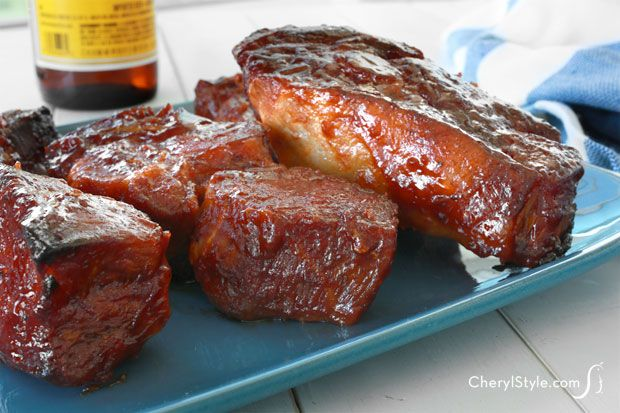 Easy and delicious recipe for country style BBQ pork ribs