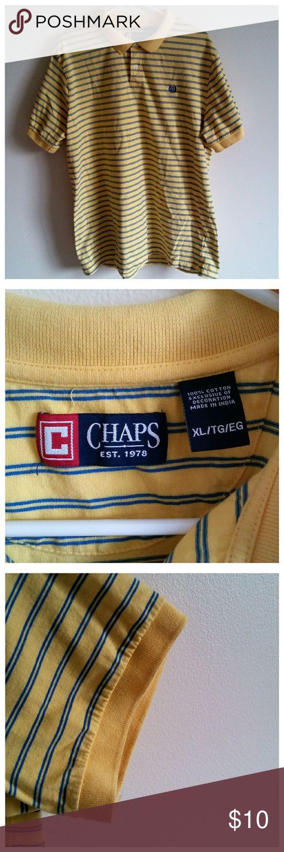 Chaps shirt Casual men's shirt Chaps Shirts Tees - Short Sleeve