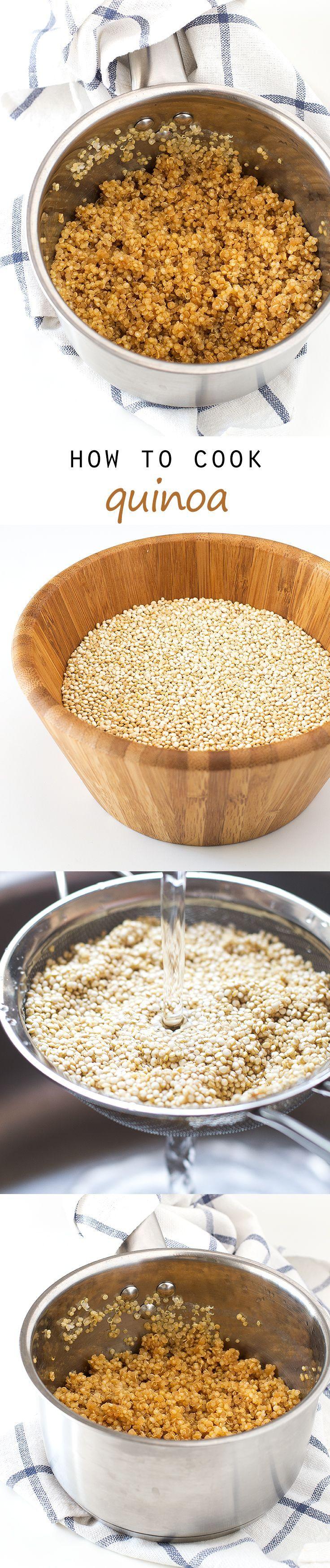 How To Cook Quinoa | http://simpleveganblog.com #vegan #glutenfree