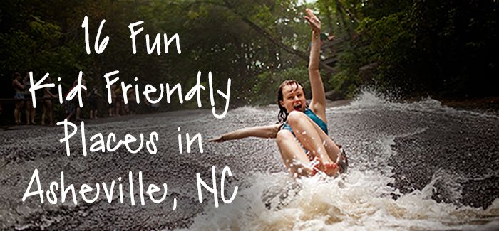 Asheville has so many exciting places to explore! Keep some of these in mind as you plan your next trip to come see us! Here are 16 Fun Kid Friendly Places to Visit in Asheville!