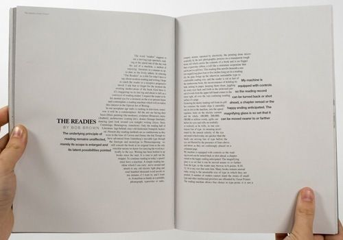 interesting use of shape on editorial layout – INSPO: EDITORIAL