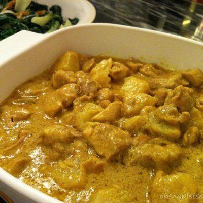 Easy Coconut Milk Curry Chicken