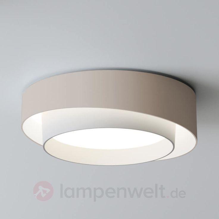Vibia Centric Leuchtstarke Led Deckenlampe Creme