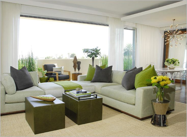Cozy Modern Curtain Ideas For Living Room : Livingroom Curtain Ideas  Contemporary