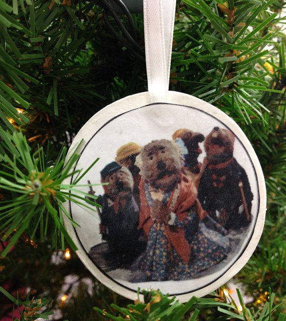 Emmet Otter's Jug Band Christmas Ornament by UberDorkDesigns