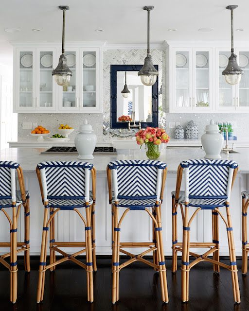 South Shore Decorating Blog: MUST SEE Blue and White One Kings Lane Entire Home Makeover