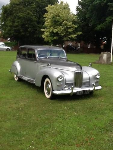 Humber super snipe mark 111 sports saloon For Sale (1951)