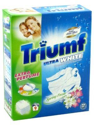 Niemiecki Proszek do Prania Tkanin Białych (9 Prań)  • profesjonalny proszek do bieli • skoncentrowany i wydajny • działa w niskich temperaturach • przywraca i odświeża biel • przyjemny zapach wiosny