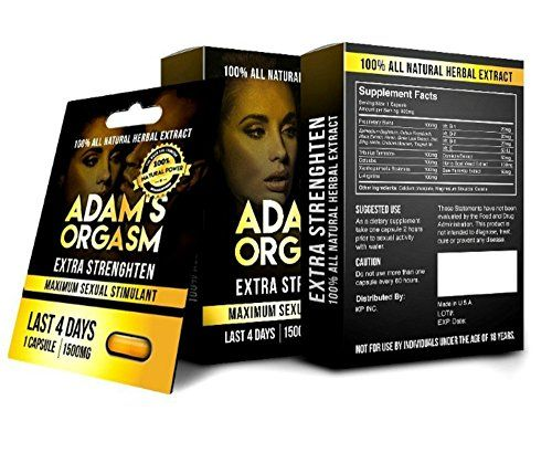 ADAMS ORGASM 100 Natural Male Libido Performance Enhancement 5 ** Want to know more, click on the affiliate link Amazon.com.