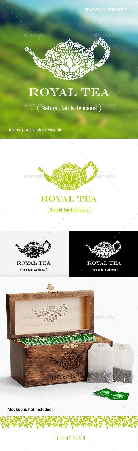 Royal Tea - Logo Template