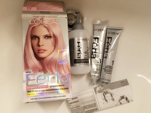 Light Pink Hair Dye Products