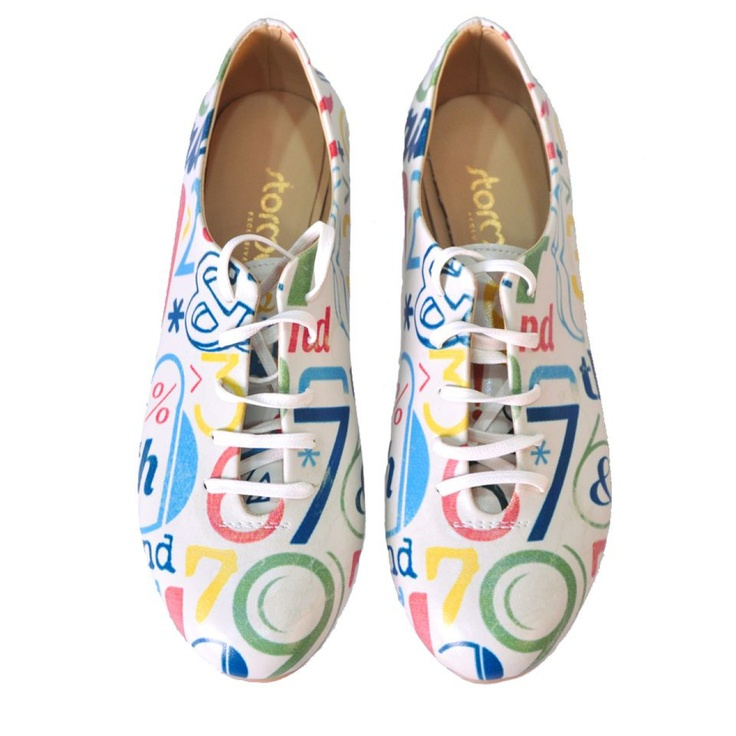 Stormy Colourfull shoes