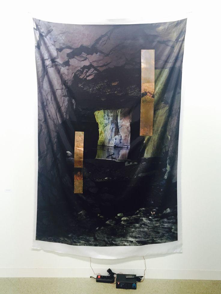 Sergei Tcherepnin at Foksal booth in Art Basel