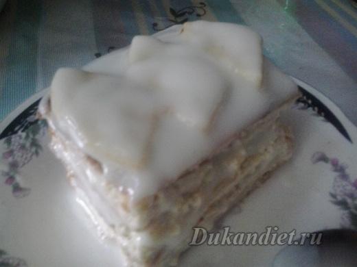 Тортик «Наслаждение»   Диета Дюкана