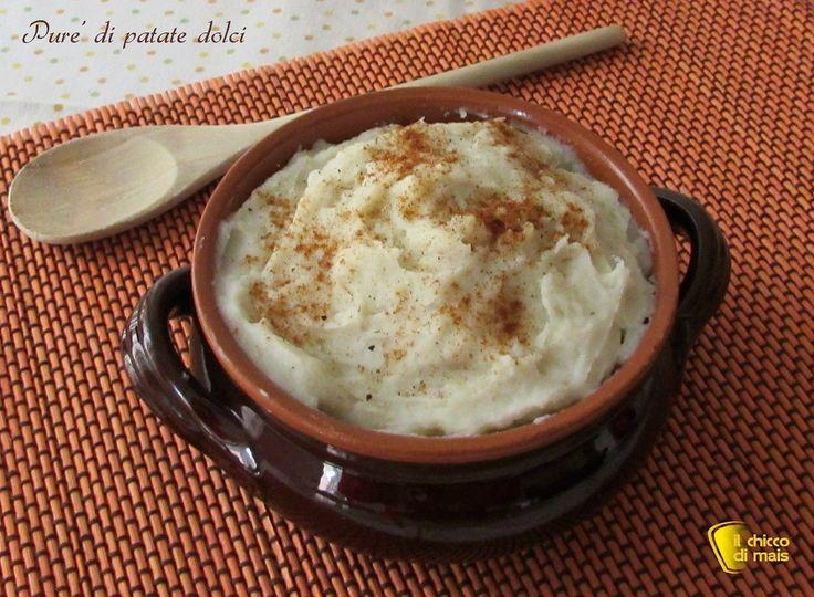 Purè di patate dolci, ricetta americana. Ricetta del purè di patate americane un contorno diverso dal solito per cucinare le patate dolci