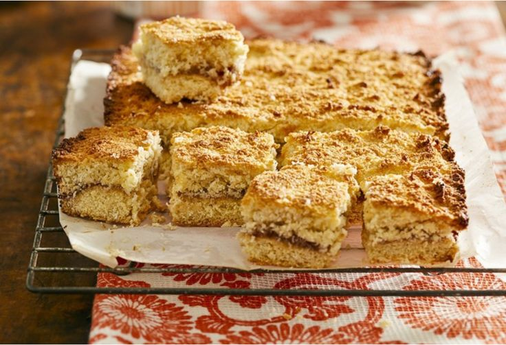 Just like grandma used to make - this old-school slice will always be an afternoon tea favourite