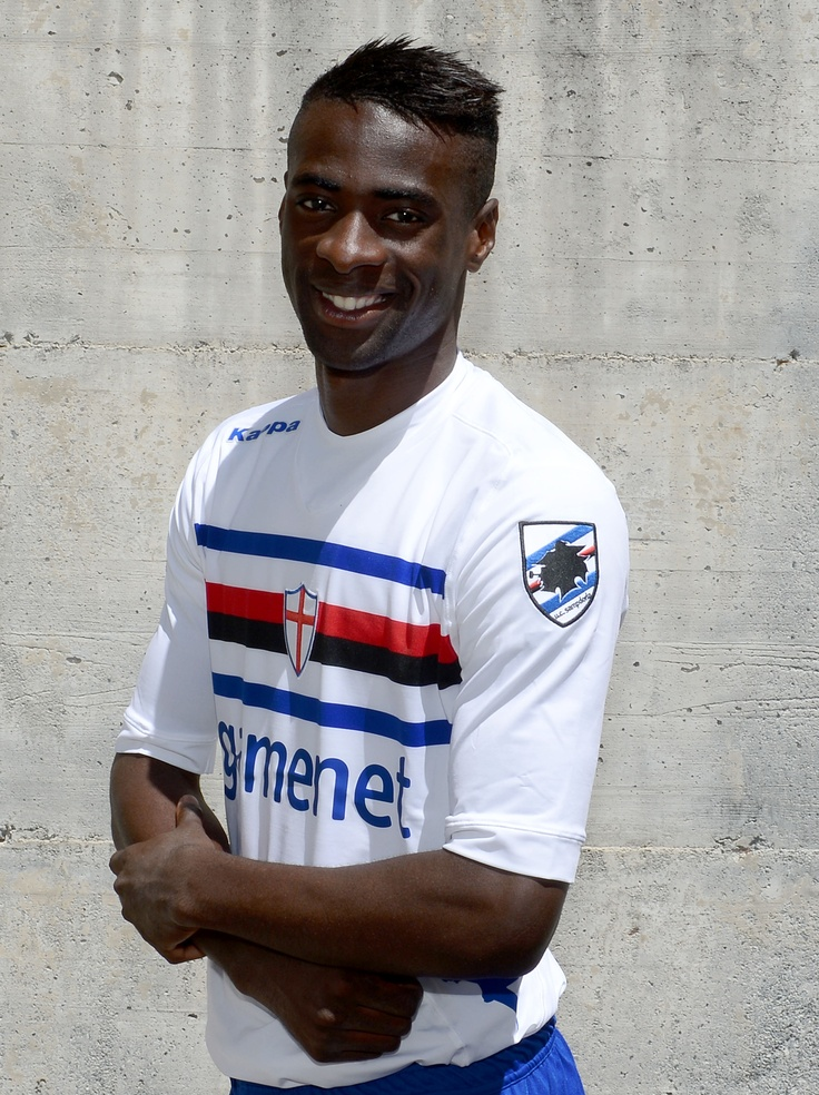 Obiang wears new kit U.C. Sampdoria