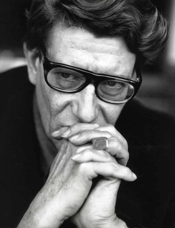Yves Saint Laurent (1936-2008) -  French fashion designer, and is regarded as one of the greatest names in fashion history.