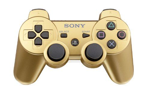 Playstation 3 Dualshock 3 Wireless Controller - Metallic Gold, 2015 Amazon Top Rated PlayStation 3 #VideoGames