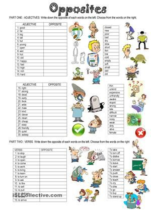 I have prepared this worksheet to practise vocabulary , as my students don't like learning their vocabulary lists, playing games with English is what they prefer - ESL worksheets