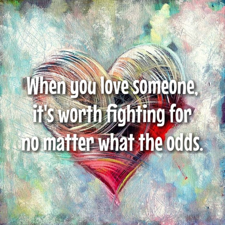 Cuando amas a alguien vale la pena luchar sin importar las probabilidades. #love #whenyoulovesomeone #worth #worthfightingfor #nomatterwhat #lovequotes #fightforit #giveitatry #monday #newweek #odds #wisewords #thoughtoftheday #dailyquotes #lovemotivation #motivationalquotes #inspirationalquotes #quotestoliveby #quotesaboutlife #quoteoftheday #todaysquote #staypositive