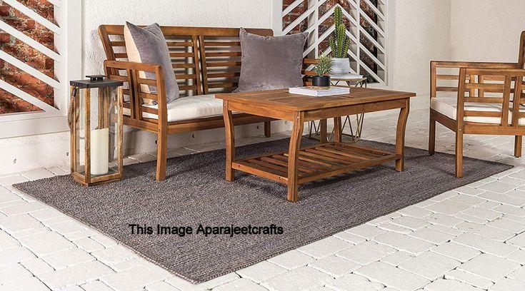 Jute rugfarm house area rug natural boho rug living