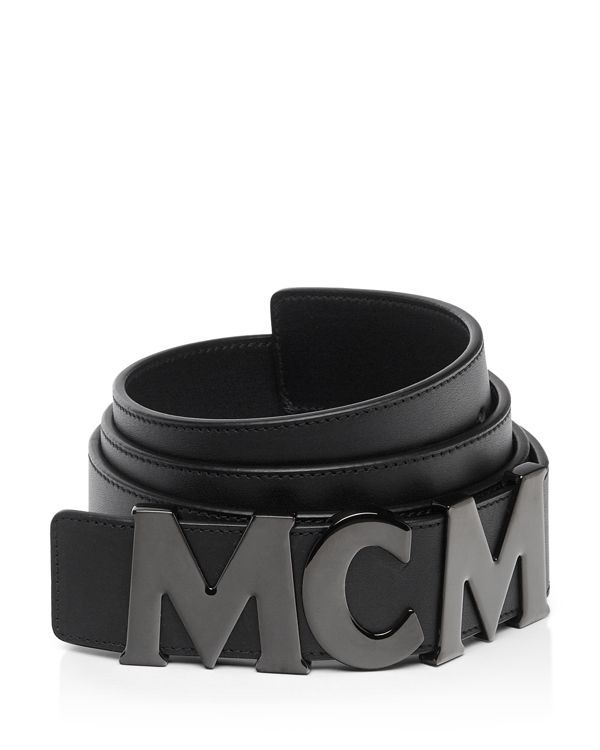 Mcm Mcm Collection Leather Belt