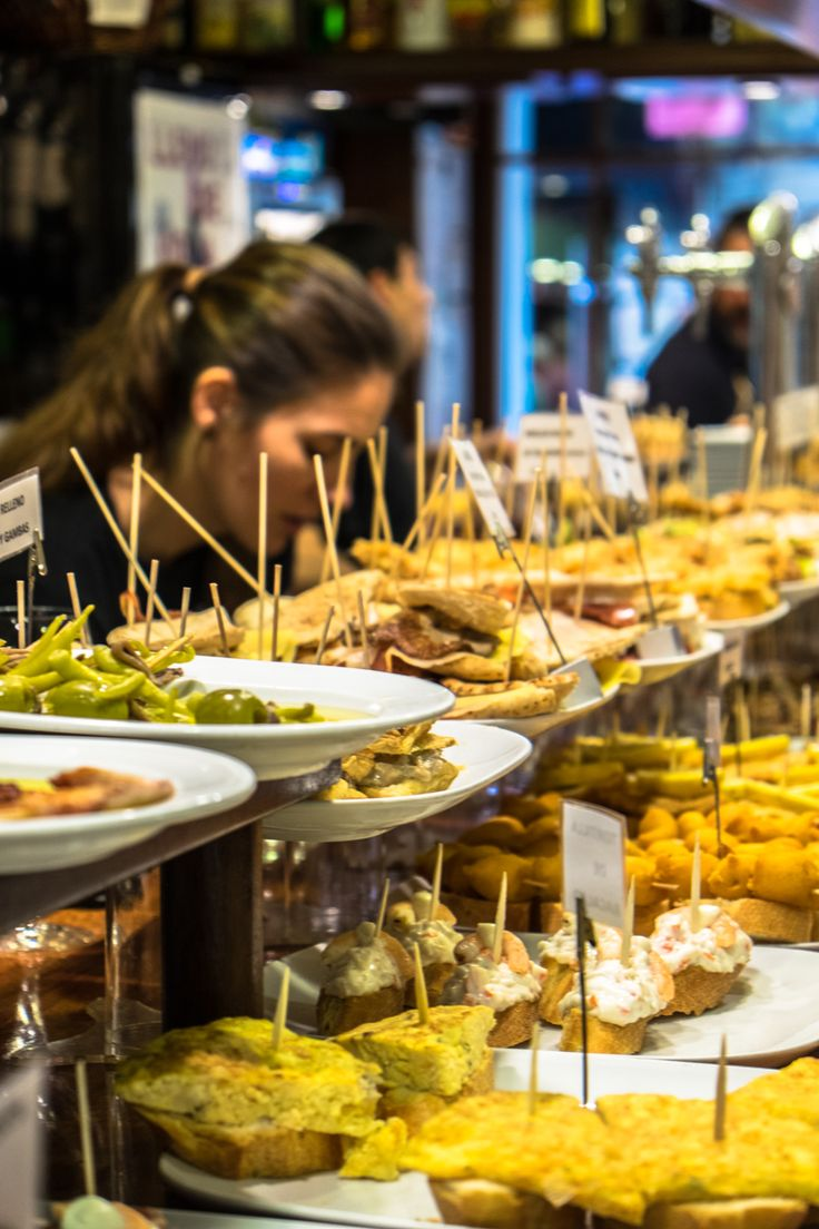 Pinxtos Bars, Market, San Sebastian, Spain