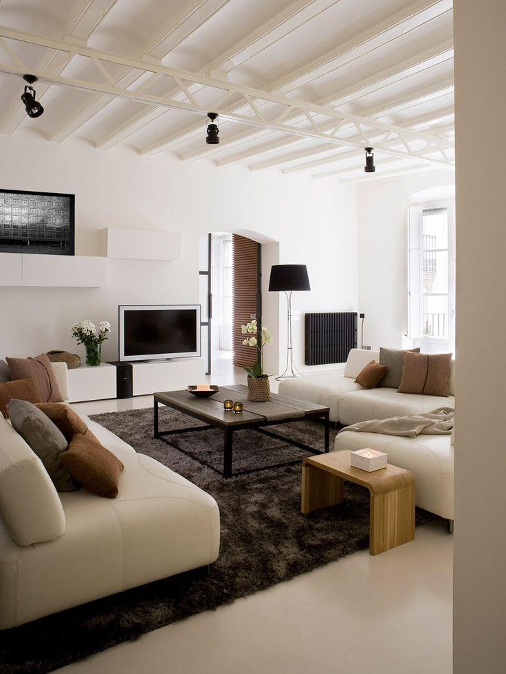 Interieur inspiratie uit Barcelona. Voor meer interieur inspiratie kijk ook eens op http://www.wonenonline.nl/interieur-inrichten/