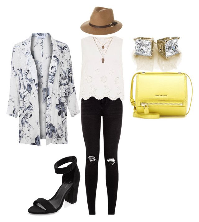 """""""White Style"""" by ruddy-pineda-zarate on Polyvore featuring Glamorous, River Island, Givenchy and Rusty"""