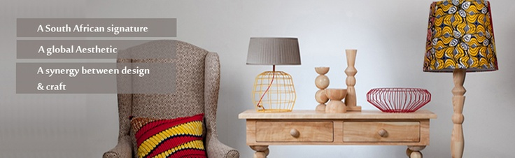 Handcrafted furniture from natural materials