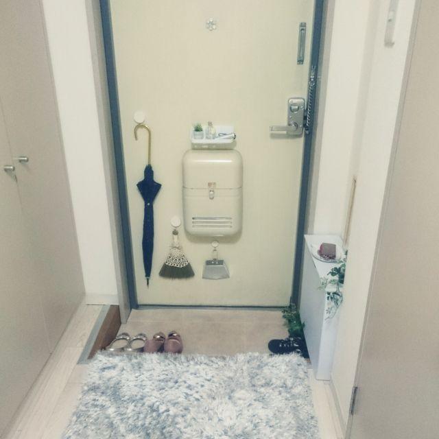 mikansanさんの、玄関/入り口,一人暮らし,Francfranc,1K,賃貸,のお部屋写真