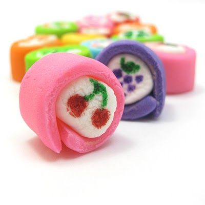 mini marshmallow Japanese-inspired candy | The Decorated Cookie
