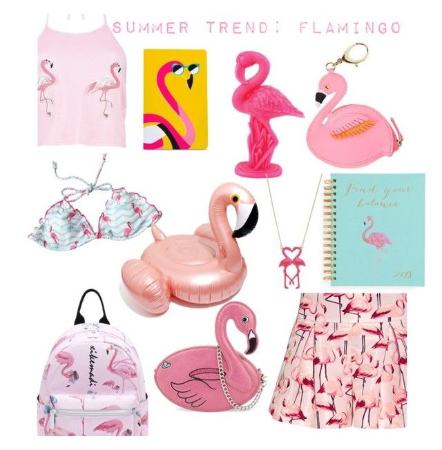 """""""summer trend"""" by geopaganeli on Polyvore featuring Boohoo, RED Valentino, Skinnydip, Lilly Pulitzer, Denik, Sunnylife, Mudd and Madewell"""
