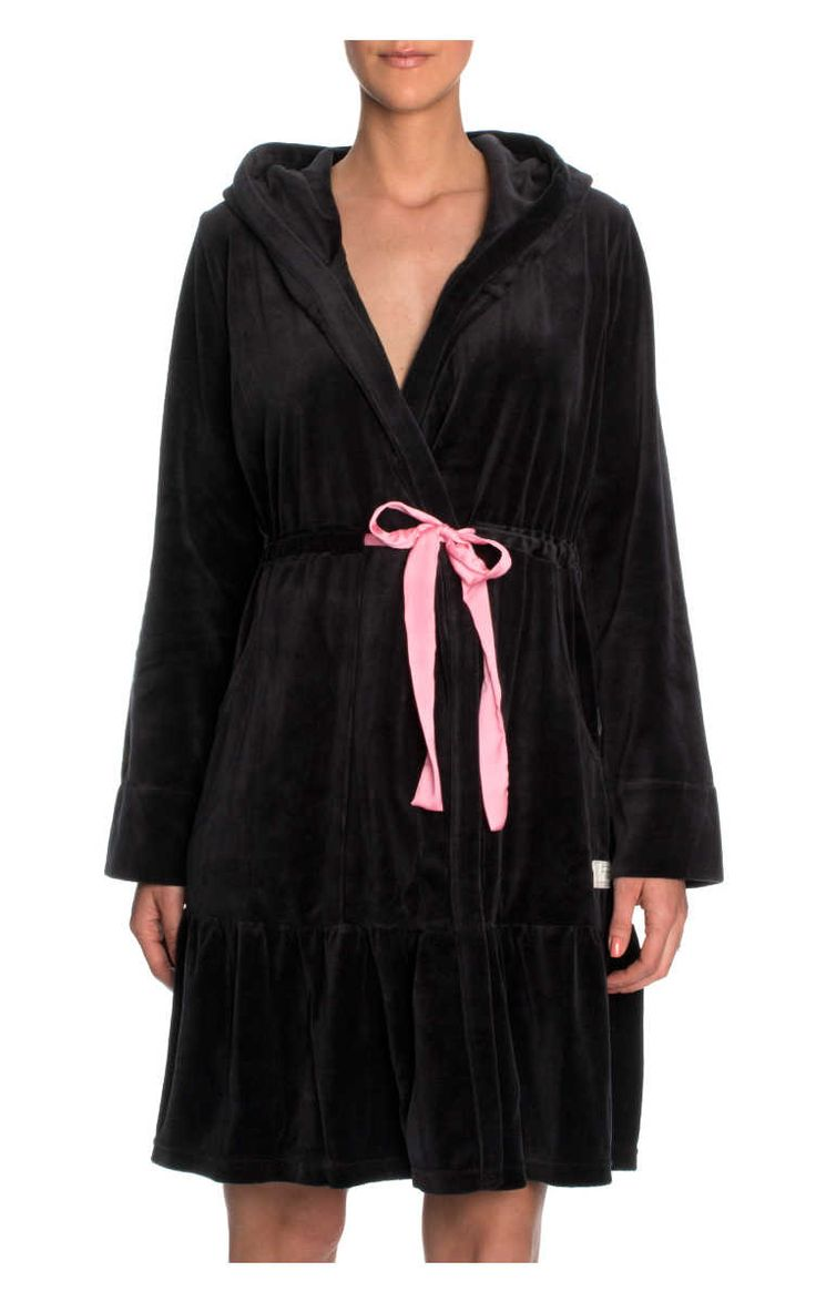 Morgonrock Myself Bathrobe BLACK - Odd Molly - Designers - Raglady